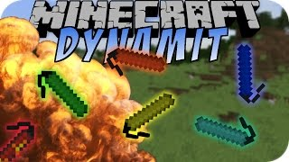 Minecraft DYNAMIT (Too Much TNT Mod)