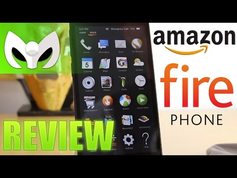 Fire Phone Review (Amazon Fire OS v3.5 COMPLETO Full)