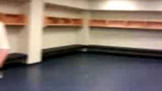 BOK Center Talons Locker room