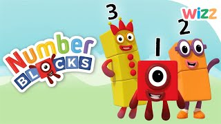 Numberblocks - 1,2,3 | Maths for Kids | Cartoons for Kids | Wizz