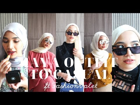 RAYA OUTFIT TO CASUAL OOTD Ft FASHIONVALET, DUCK SCARVES - ALIA.B & LILIT