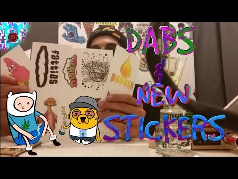DABS & SOME NEW STICKERS FOR THE WHITE BOARD-BLAZE