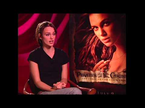 "Pirates of the Caribbean: Keira Knightley ""Elizabeth Swann"" Exclusive Interview"