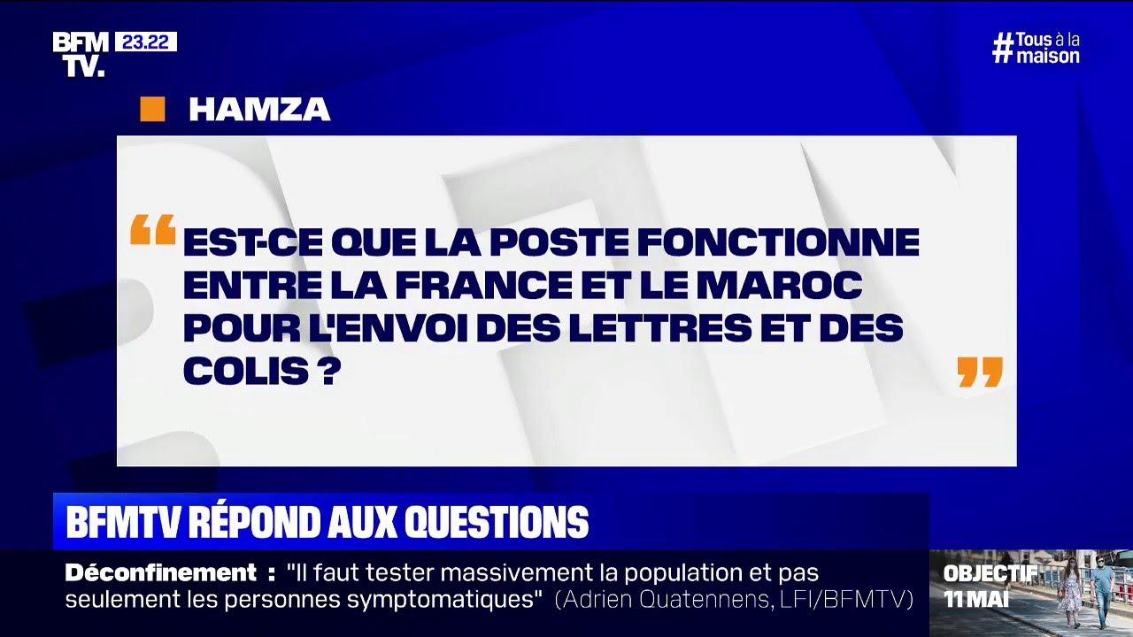 Est-ce que La Poste fonctionne entre la France et le Maroc ?