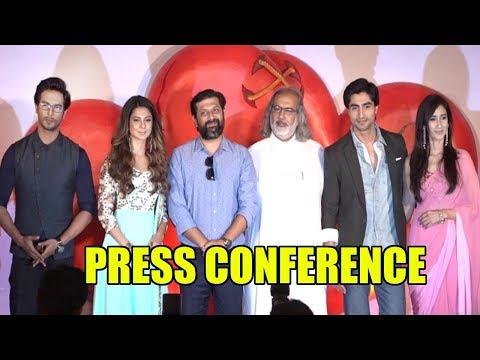 Press Conference NEW SHOW BEPANNAAH WITH JENNIFER WINGET,HARSHAD CHOPDA,SEHBAN AZIM & Namita Dubey