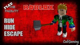 WE BARELY MADE IT OUT   FLEE THE FACILITY   ROBLOX