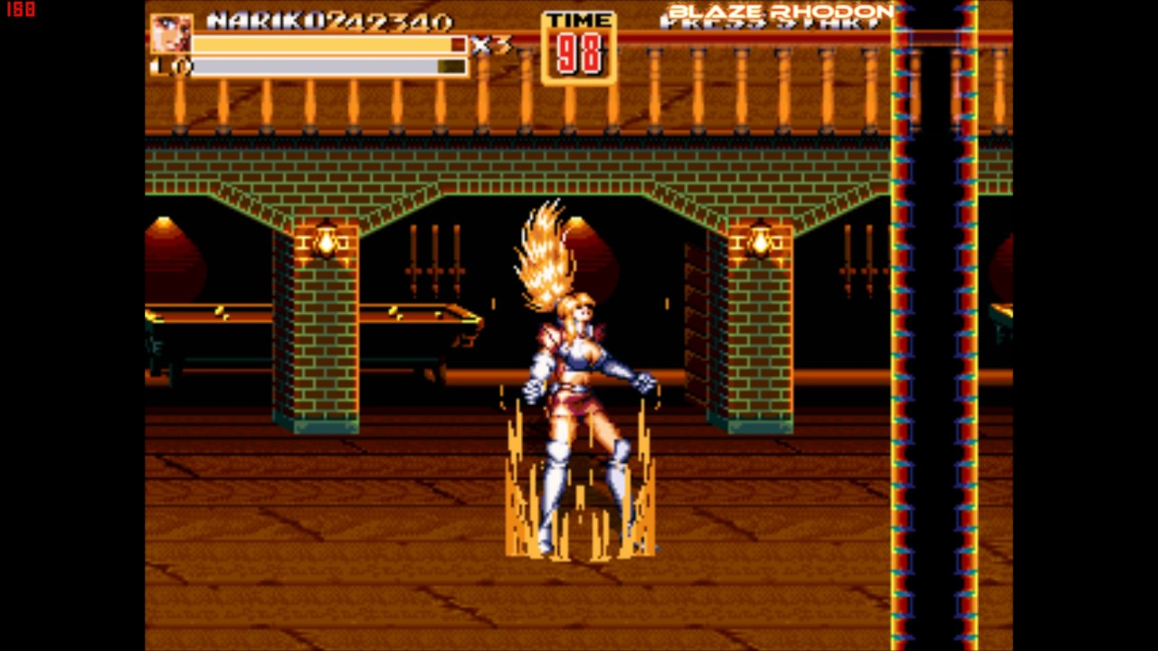 openbor_game Streets of Rage Z3 by pu du