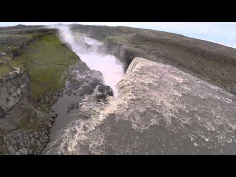 Amazing Waterfalls in Iceland - Selfoss, Jokulsa, Dettifoss - GoPro Drone