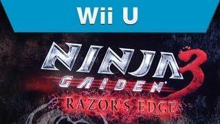 Wii U - Ninja Gaiden 3: Razor's Edge Booth Interview