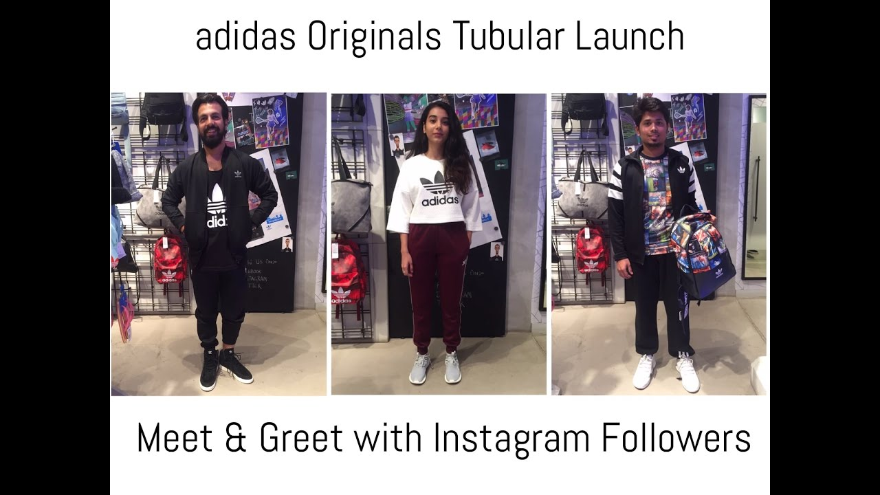 size 40 0dc38 d872f adidas Originals Tubular Launch India   Meet and Greet with my Instagram  Followers