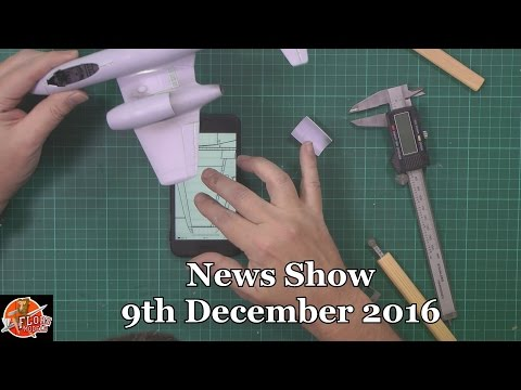 Flory Models Daily Show Friday 9th December 2016
