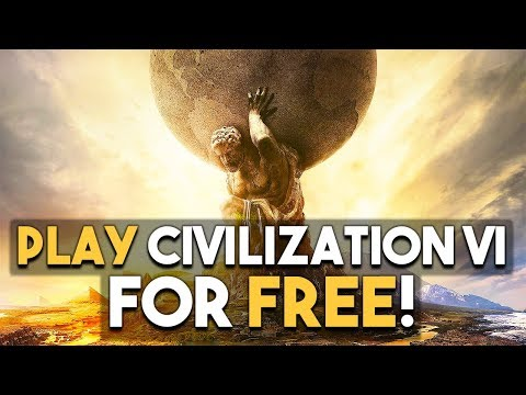 Play Civilization VI FREE This Weekend! ZELDA VR Tech Demo!