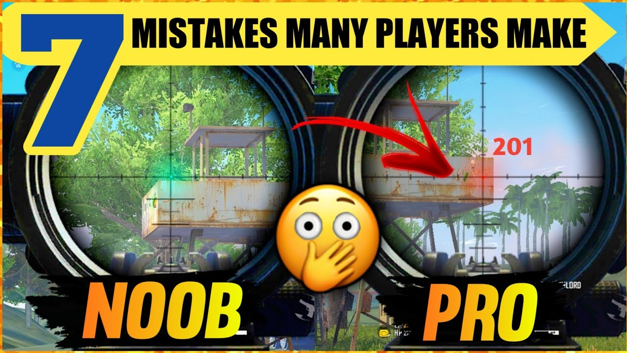 7 COMMON MISTAKES PLAYERS MAKE IN FREE FIRE | TIPS AND TRICKS IN FREE FIRE