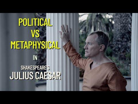 Julius Caesar 2014 Interview 2:  Benjamin Moore as Julius Caesar