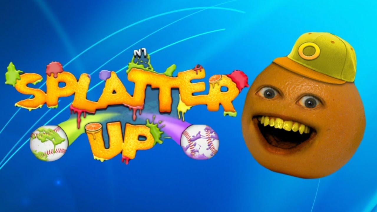 Let S Play Annoying Orange Splatter Up Youtube
