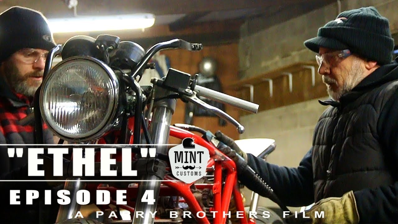 Cafe Racer Build Mint Customs The Series Ep 4