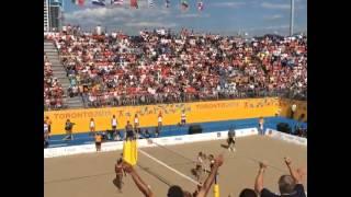 Video: Argentina consiguió el oro en beach volley