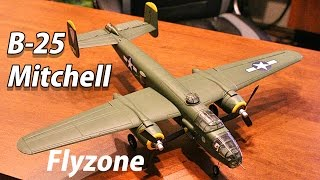 flyzone micro b 25 mitchell unboxing first impressions thercsaylors