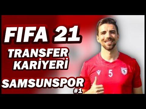 YERLİ MESSİ TRANSFERİ   ZAFERE GİDEN YOL #1  FIFA 21 SAMSUNSPOR KARİYERİ   GTA 5