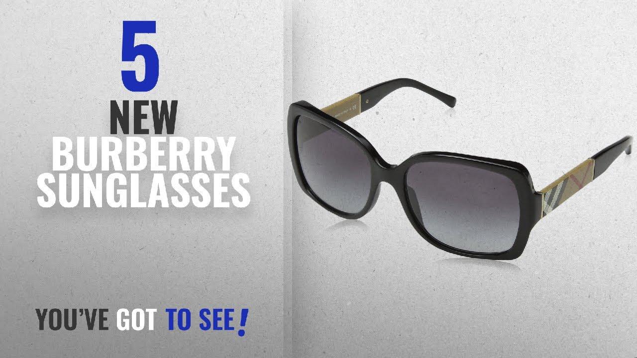 6681bcee80c Top 10 Burberry Sunglasses   Winter 2018    Burberry BE4160 34338G ...