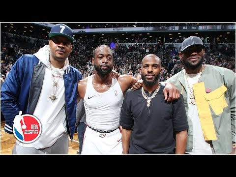 Banana Boat crew reunites as Dwyane Wade puts on historic performance in NBA finale | NBA Highlights thumbnail