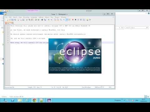 Install MinGW64 (GNU GCC) & eclipse CDT on 64bit Windows OS