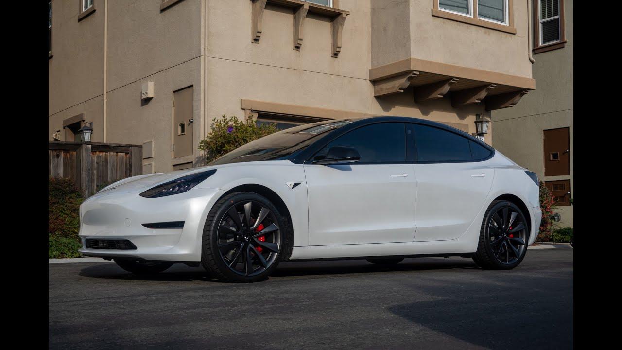 Tesla Model 3 - Chrome Delete - Oreo Style and 3M ...