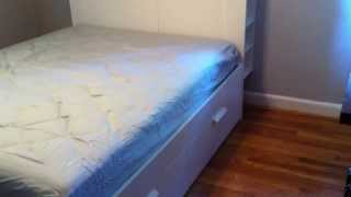 Ikea Brimnes Storage Bed Assembly Service In Ellicott City Md By Furniture Assembly Experts Llc
