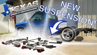 Shop Trucks INSANE New Suspension Set Up!
