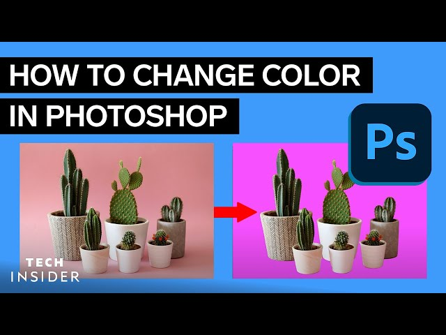 How to change the Background Color in Photoshop