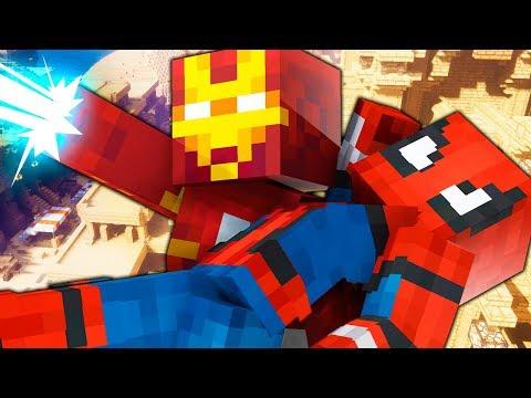 Смотреть мультфильм онлайн человек паук и железный человек
