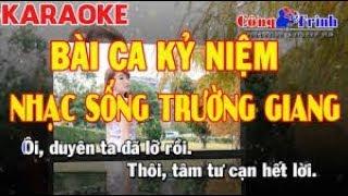 Karaoke Bài Ca Kỷ Niệm   Keyboard Trường Giang   Karaoke Nhạc Sống 2020