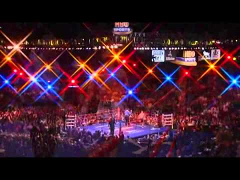 "Ricky ""Hitman"" Hatton vs Paulie Malignaggi - IBO Light Welterweight Title - Rounds 1 - 6"