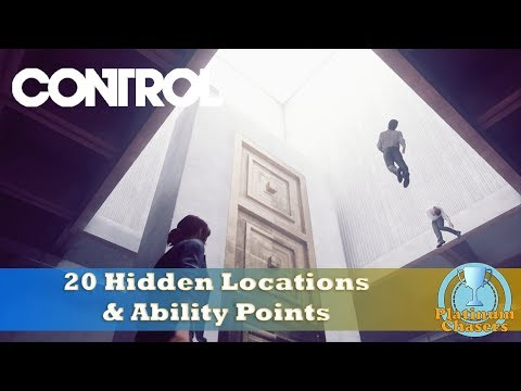 20 Hidden Locations & Ability Points - Control