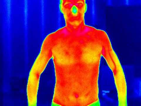 Infrared Of Male Body