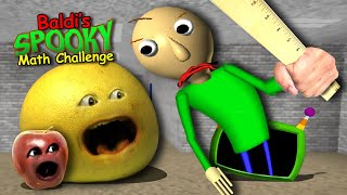 Annoying Orange - Baldi's Spooky Math Challenge! #Shocktober