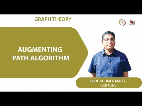 Lecture 16 Part 1 Augmenting Path Algorithm