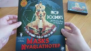 A quick look at Dark Adventure Radio Theatre: Masks of Nyarlathotep