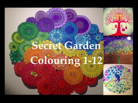 Secret Garden Colouring Book Gallery