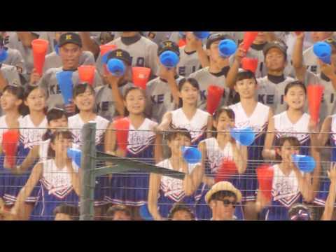 圧倒的な可愛さ慶応チア part6  甲子園 夏 2018 8回裏 [烈火-シリウス-疾風]