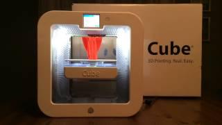 Third generation Cube 3D Printer