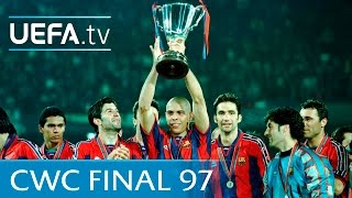 Barcelona v Paris Saint-Germain: 1997 UEFA Cup Winners