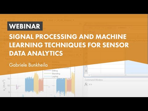 Signal Processing and Machine Learning Techniques for Sensor Data Analytics