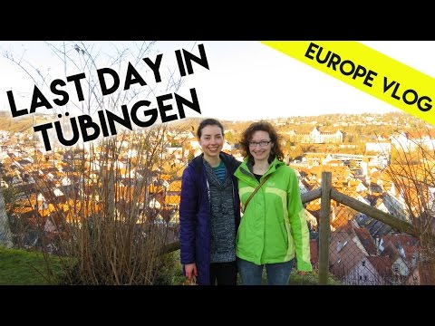 My last day in Tübingen, Germany | Europe Vlog 8