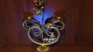 видео Изделия из бронзы: канделябры, каминные наборы, подсвечники.