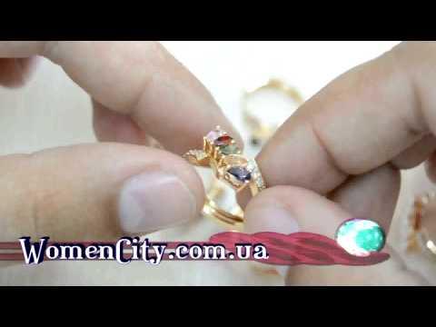 Серьги Королевский выбор изготовленные из медицинского золота (WomenCity)