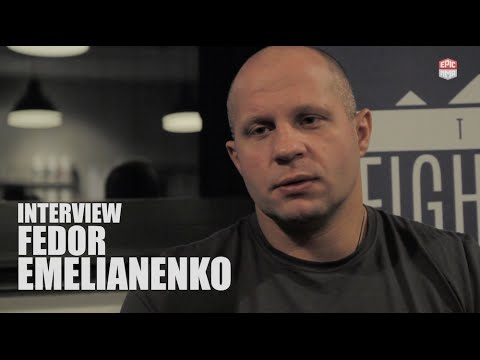 "Fedor Emelianenko: ""I would like to fight the UFC Champion Fabricio Werdum"""