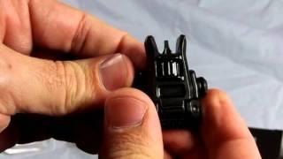 Rock Paracord - Magpul MBUS Pro Back-up Sights - Install