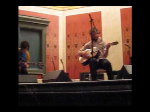 Justin Vernon and Annie Clark with Bryce Dessner  Roslyn  Music Now Festival