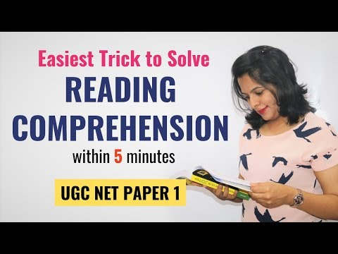 How To Solve Reading Comprehension In Less Than 5 Minutes